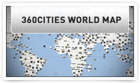 Voir la carte du monde 360Cities