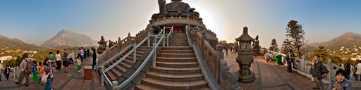 Lanteau Island's Tian Tan Buddha